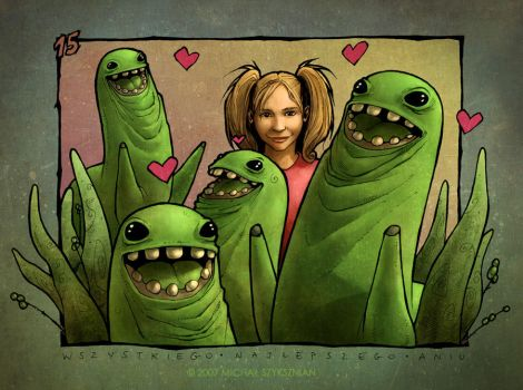 Ania and The Bunchies by bullsik