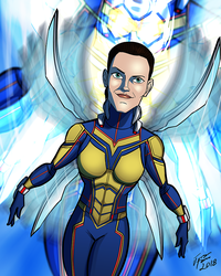 The Wasp (Unmasked) by jonathanserrot