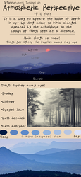 Atmospheric Perspective Tutorial by Bigsleeves-Arts