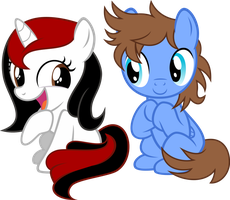 Stereo Hearts and Writer Heart by NewLunaticRepublic