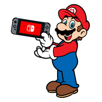 Super Mario x Nintendo Switch - Mario by PepVerbsNouns