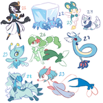 Pokefusions [3/4] by Flavia-Elric