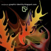 Fire Fusion Photoshop Brushes by GraphicIdentity