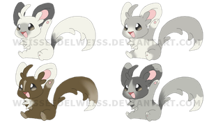 Minccino Alternate Colors