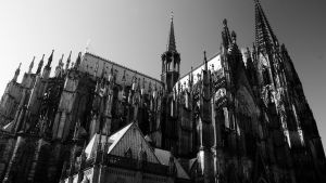 The Cologne Cathedral Exterior by cybercake
