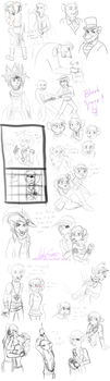 Sketchdump February 2017 by ALS123