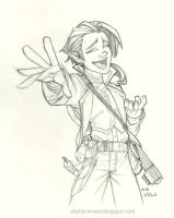 Daily Drawing Scanlan by AndrewScottKeller