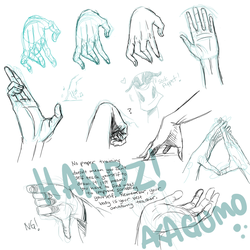 Hand Reference by Akagumo