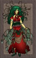 Color Design: Woodland Fae v1 by taeliac