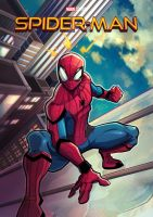 Spider man Homecoming by Puekkers