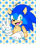 Sonic the hedgehog by TwilightShadow180