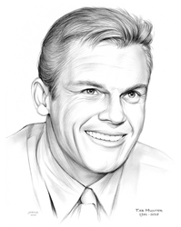 RIP Tab Hunter by gregchapin