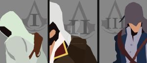Assassins Creed TRIO poster by AnimusMedia
