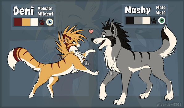 Deni n' Mush Reference by Synthucard