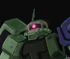 Zaku II Updated by DrForrester87