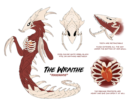 The Wraithe by Rikkoshaye