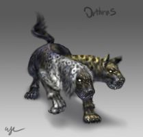 Day 9: Orthrus by Wen-M
