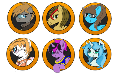 Brony Badge set 17 by DBurch01