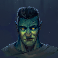 Fjord Portrait by Wuggynaut