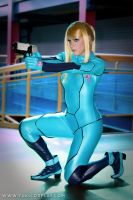Metroid - Zero Suit Samus by Yukilefay