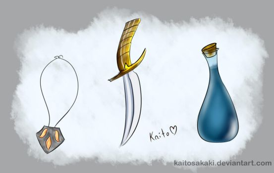 SSRP Items by KaitoSakaki