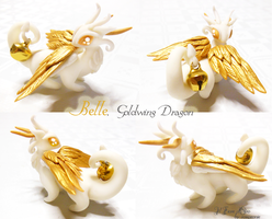 Belle, Goldwing dragon2 by rosepeonie