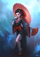 Geisha by ShoZ-Art