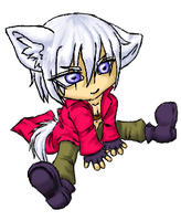 Chibi Dante - Colored by Eclipsed-Angel