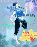Wii Fit Trainer, I Cant Weight by jamsoda