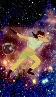 Dabbing... in space [Contest Entry] by TheSpiciestRamen