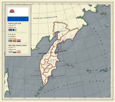 If Kamchatka was an independent country by pavelzuk