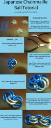 Chainmaille Ball Tutorial by lunabellvarga