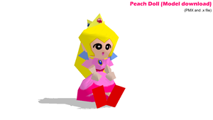[MMD] Peach Doll (model download) by VOCAD