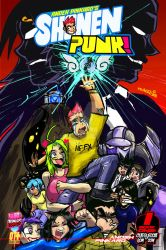 Shonen Punk! Volume 1 cover art by andehpinkard