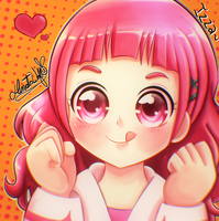 Nono Hana | Pretty Cure by Hinata1495