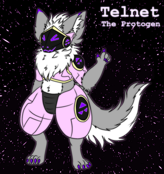 Telnet, the Protogen by Maverik-Soldier