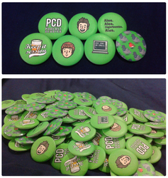 elis james and john robins buttons by dongpeiyen1000