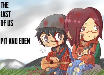 Last of Us Art Trade Pit and Eden by PitClover