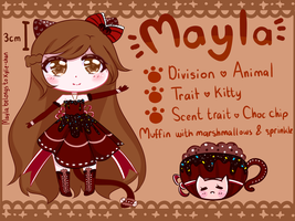 (+MYO FLOOFIE+) Mayla by Xylie-chan