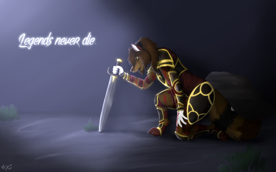 Legends Never Die by thebigwolflion