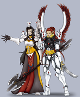 Eldar Farseer and Autarch by MIXSAN