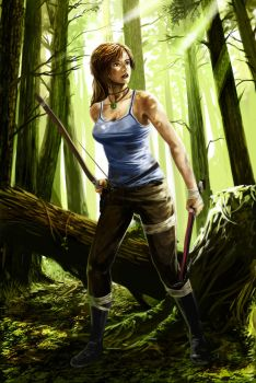 Tomb Raider - Rays of Hope by Dedefox