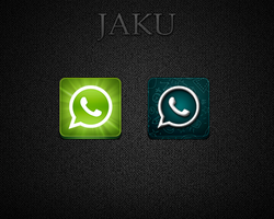 WhatsApp for Jaku iOS Theme by pedrocastro