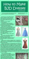 How to Make BJD Dresses by RodianAngel