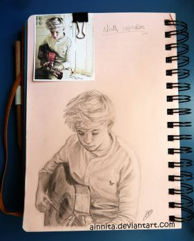 Niall inspiration by Ainnita