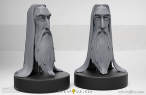 Saruman Tribute by OskarKuijken