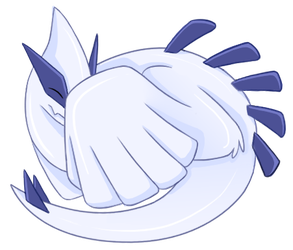 Sleepy Lugia by Articuno