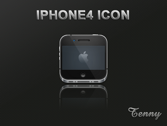 Iphone4 icon by Tenny0404