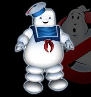 Stay Puft Marshmallow man by Dean-Irvine