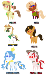 Nation Ponies by Catsofdeath